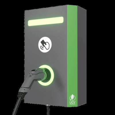 Электрозаправка на стену UGV Chargers 1 кабель Тип 2, 22 кВт