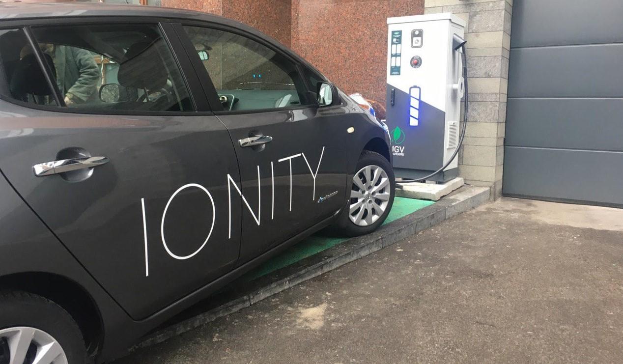 Зарядная станция_SUPERCHARGER Ionity_ разработка UGV Chargers