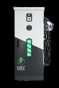 Быстрая зарядка электромобиля UGV Chargers