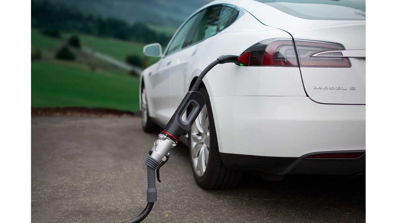 Tesla S EV charging cost