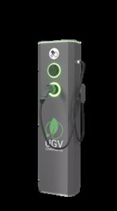 Электрозаправка напольная 22кВт-розетка Тип 2 и кабель пр-ва UGV Chargers