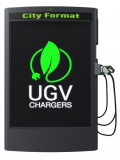Charging station_City Format_UGV Chargers_быстрая электрозаправка для электромобилей